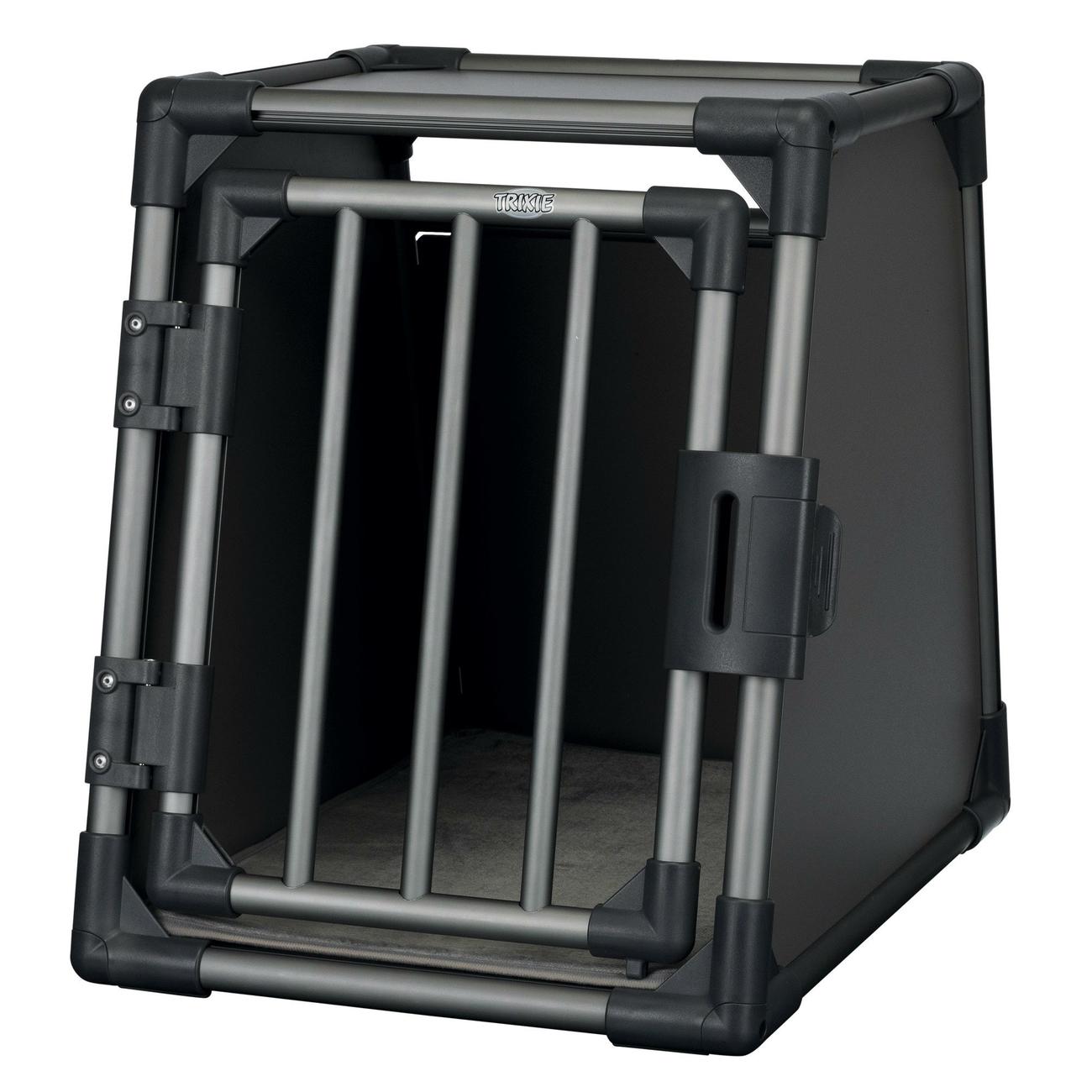 Trixie Autobox für Hunde aus Aluminium, graphit 39335