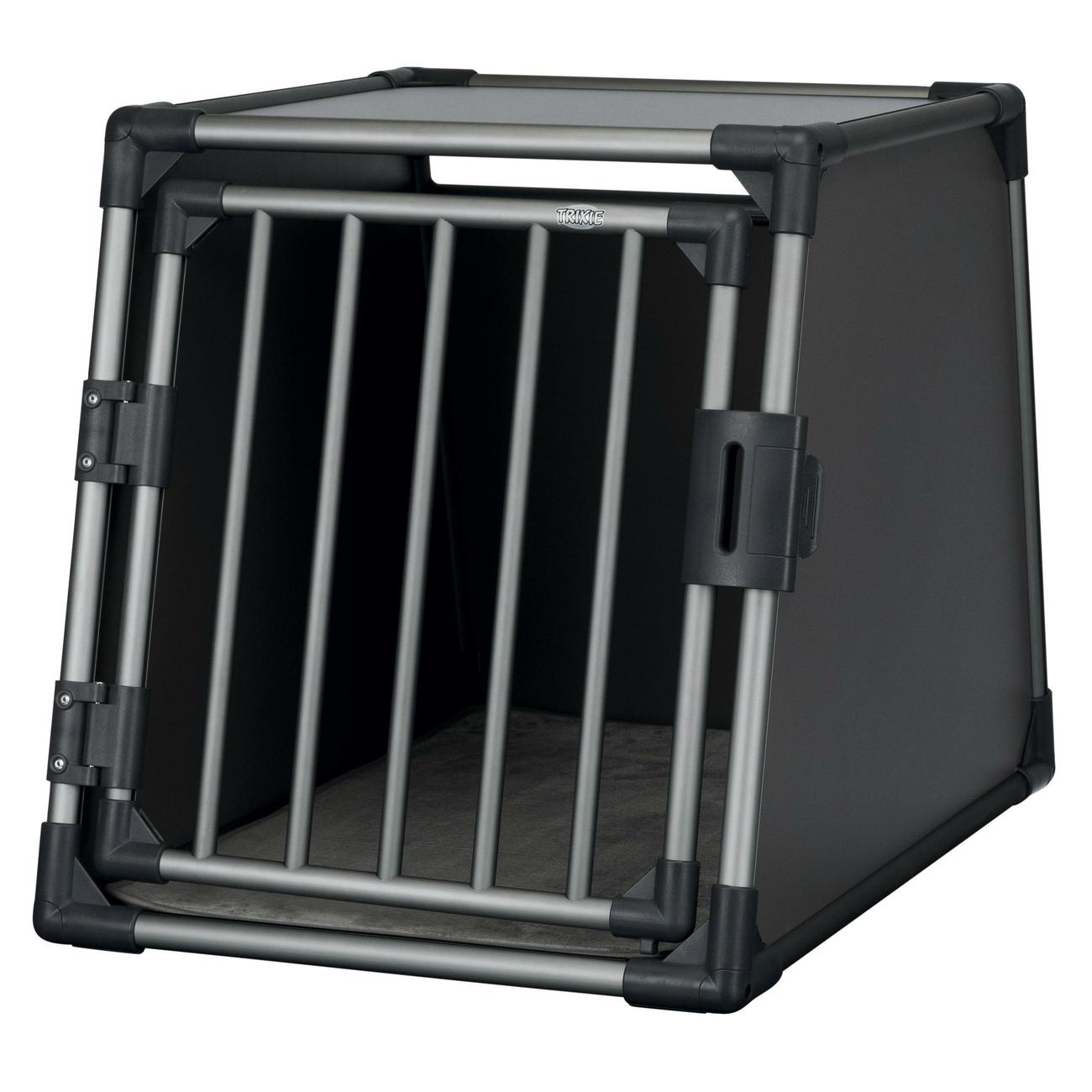 Trixie Autobox für Hunde aus Aluminium, graphit 39335, Bild 5