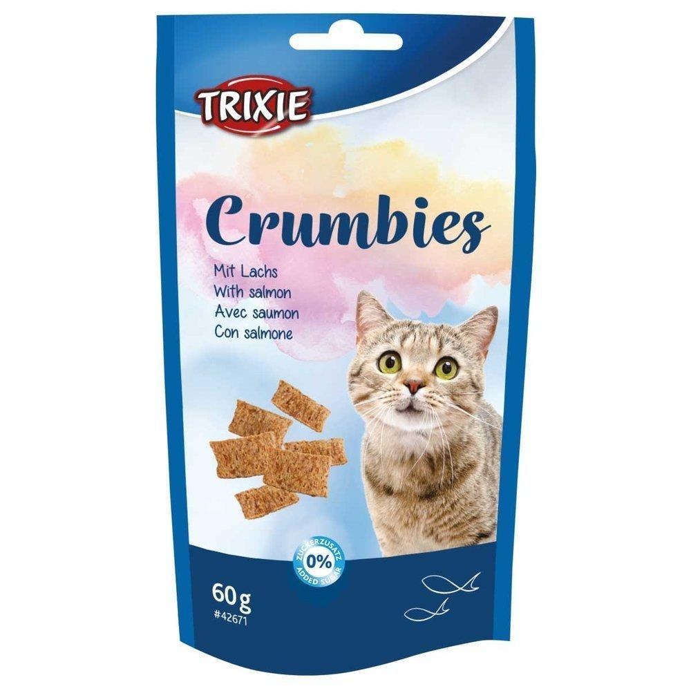 Trixie Crumbies mit Taurin, Lachs und Taurin, 60 g