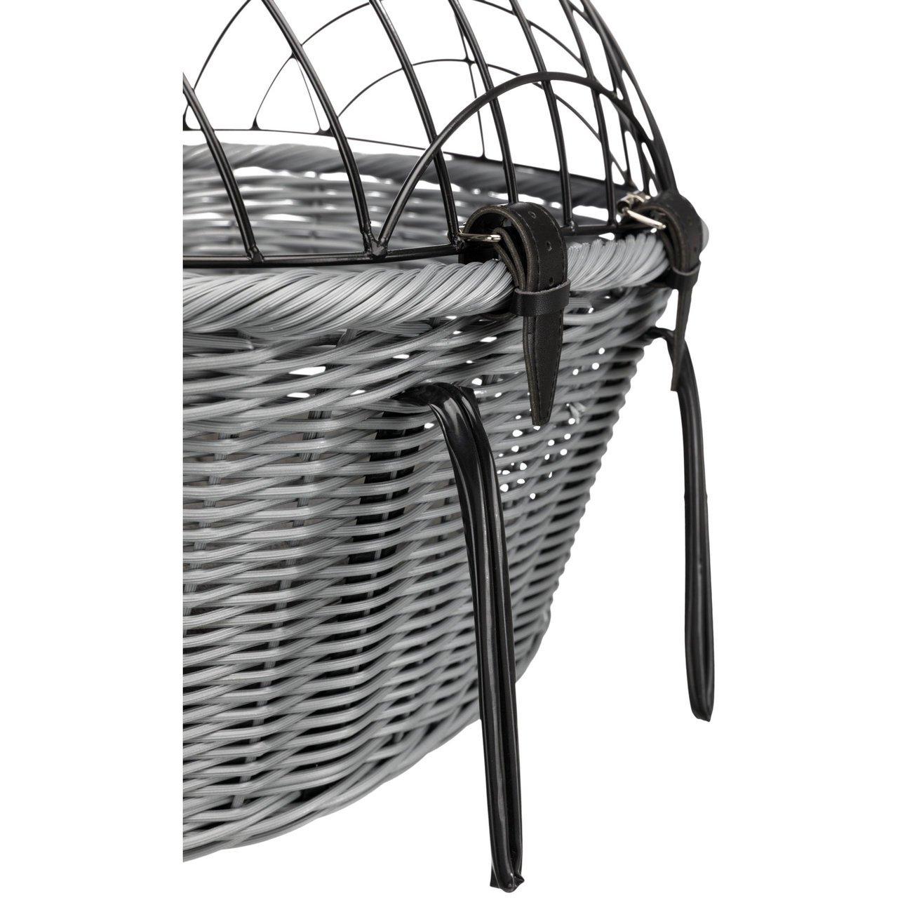 Trixie Fahrradkorb aus Polyrattan mit Gitter 13119, Bild 2