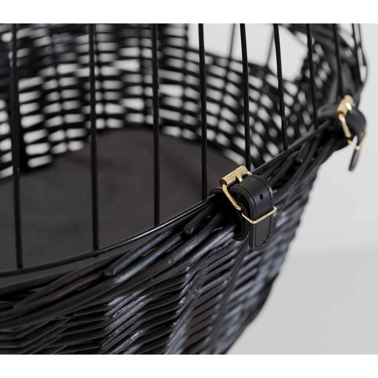 TRIXIE Fahrradkorb mit Gitter, schwarz 2818, Bild 12