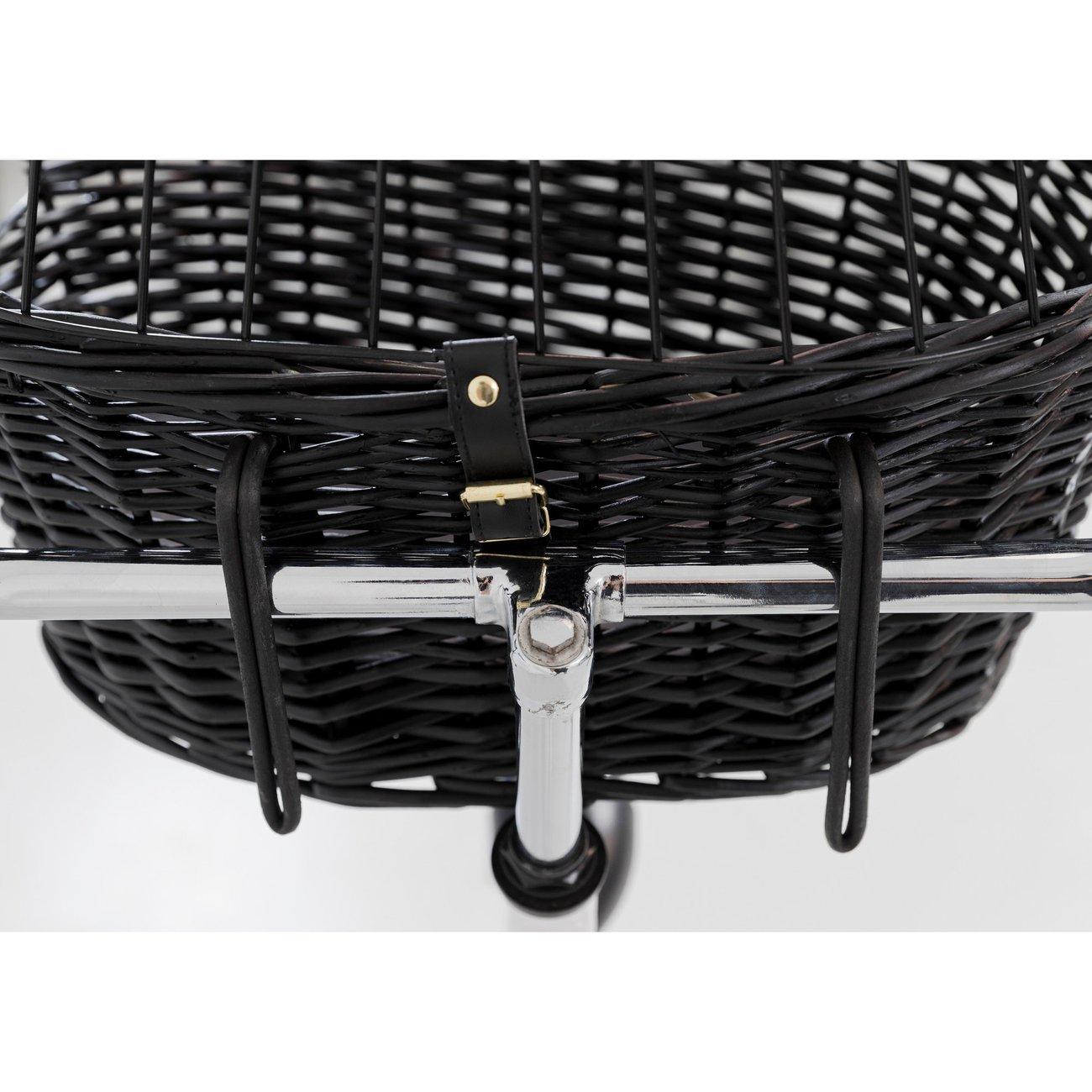TRIXIE Fahrradkorb mit Gitter, schwarz 2818, Bild 7