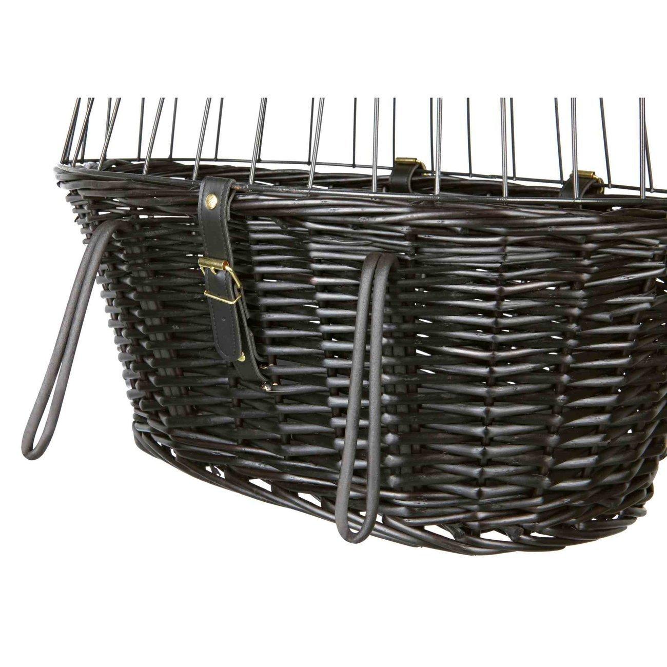 TRIXIE Fahrradkorb mit Gitter, schwarz 2818, Bild 9