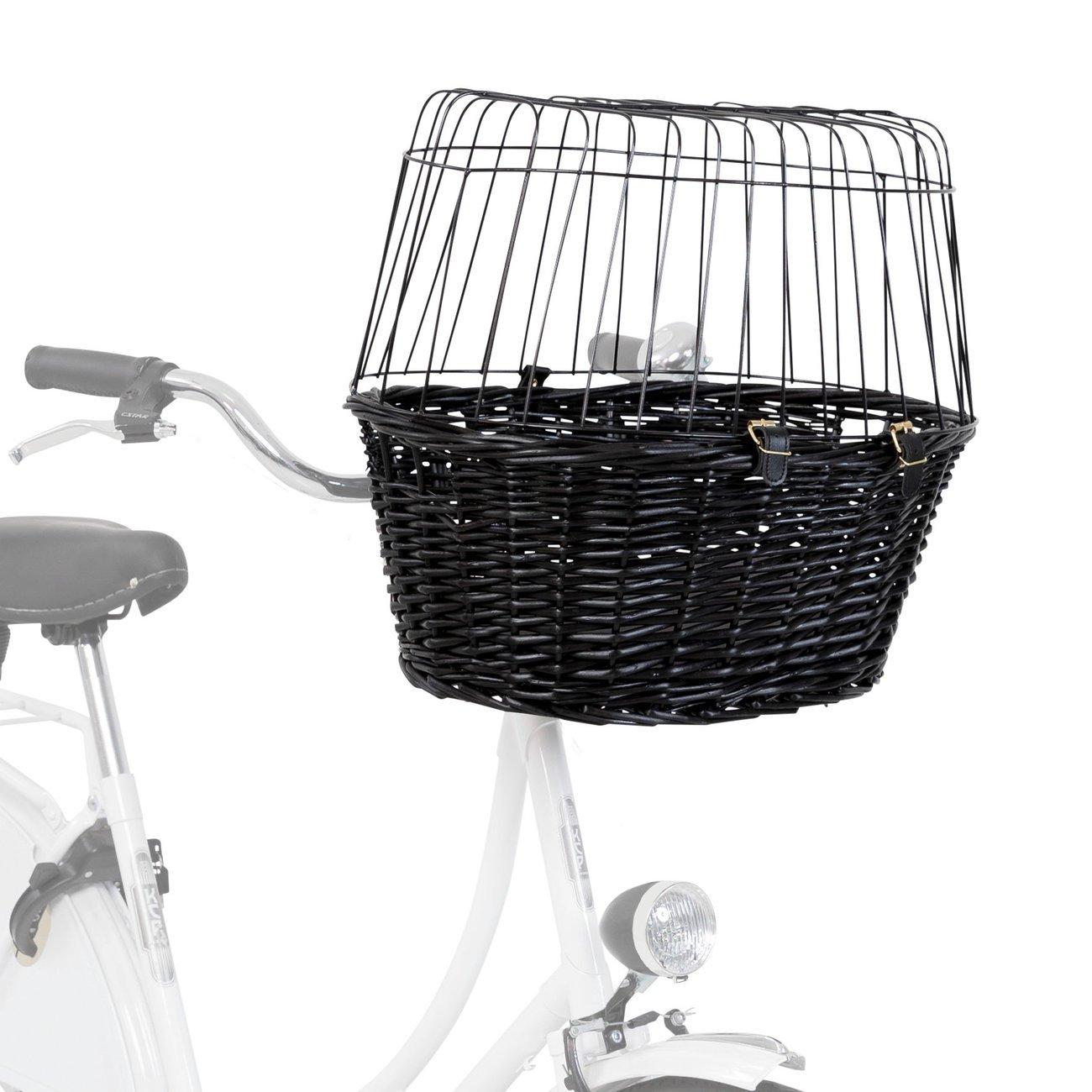 TRIXIE Fahrradkorb mit Gitter, schwarz 2818, Bild 3