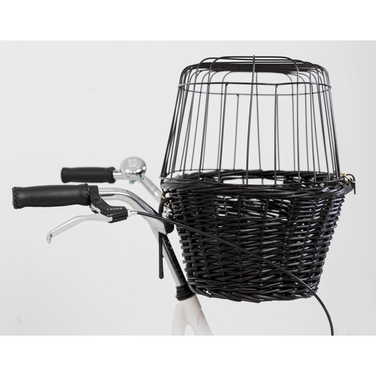 TRIXIE Fahrradkorb mit Gitter, schwarz 2818, Bild 11
