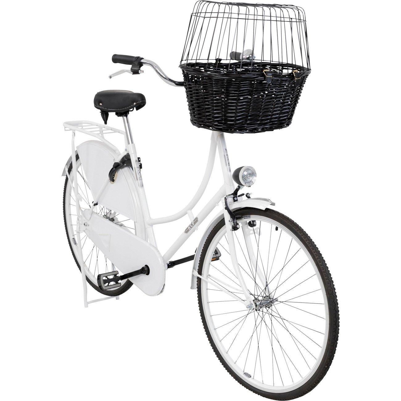 TRIXIE Fahrradkorb mit Gitter, schwarz 2818, Bild 5