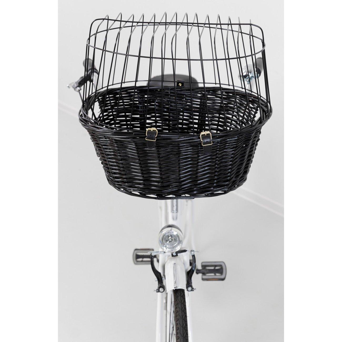 TRIXIE Fahrradkorb mit Gitter, schwarz 2818, Bild 4