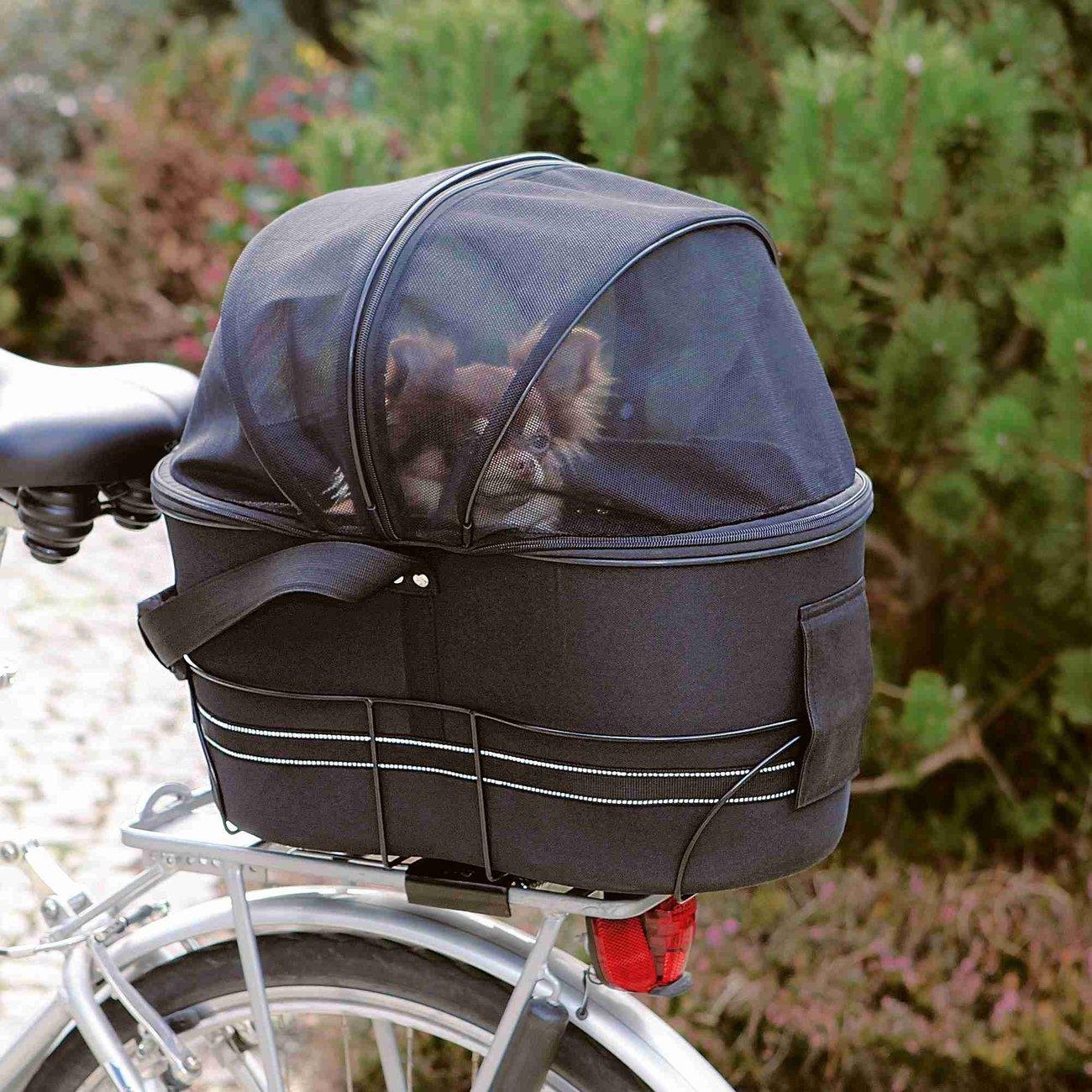 TRIXIE Fahrradtasche mit Metallrahmen für breite Gepäckträger Preview Image
