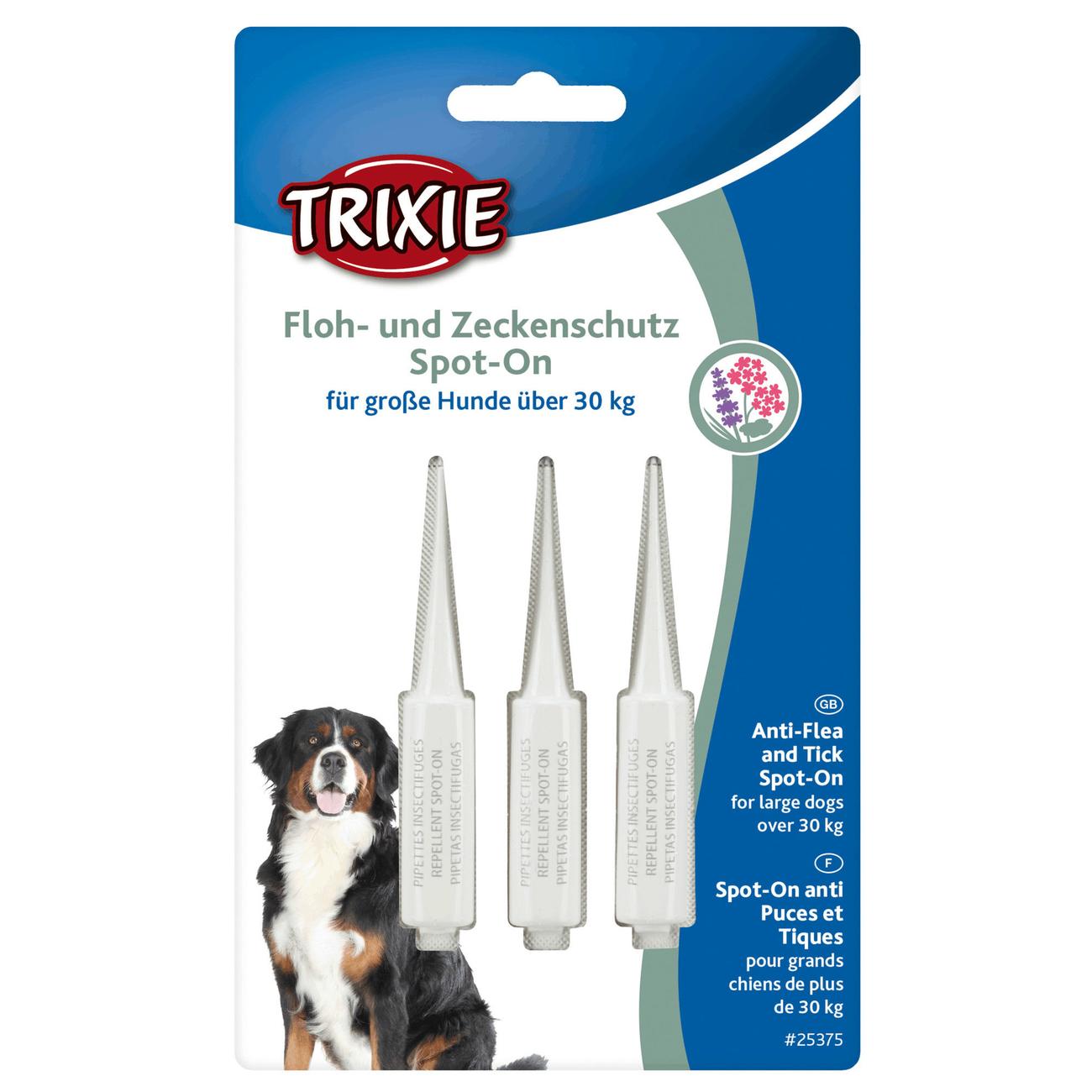 Trixie Flohschutz und Zeckenschutz Spot-On für Hunde 25377