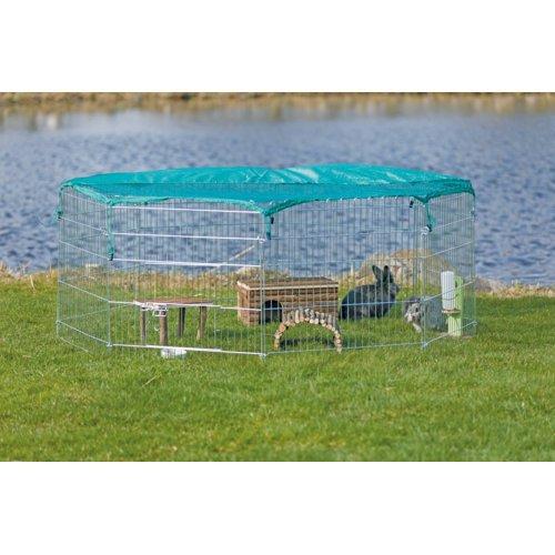 TRIXIE Freilaufgehege für Kleintiere mit Schutznetz 6243, Bild 2