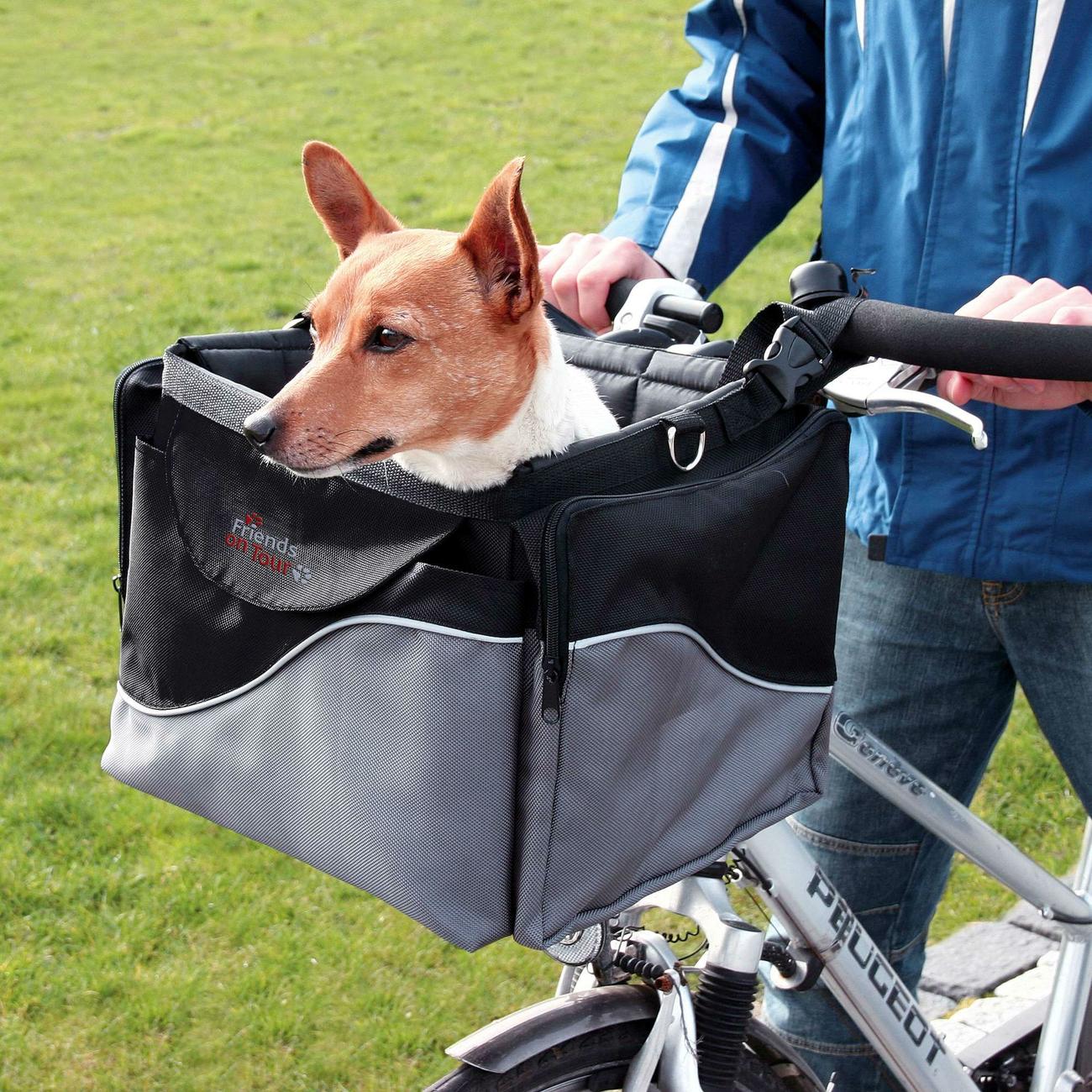 Trixie Front-Box Fahrradtasche für Hunde 13113