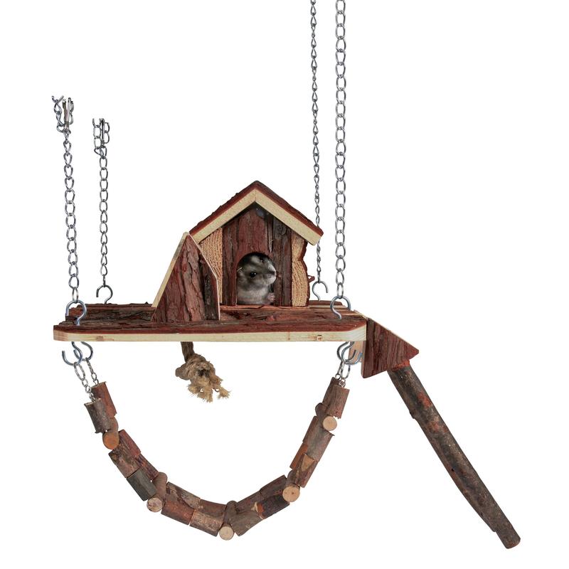 Trixie Hamster Spielplatz zum Einhängen Janne Bild 1
