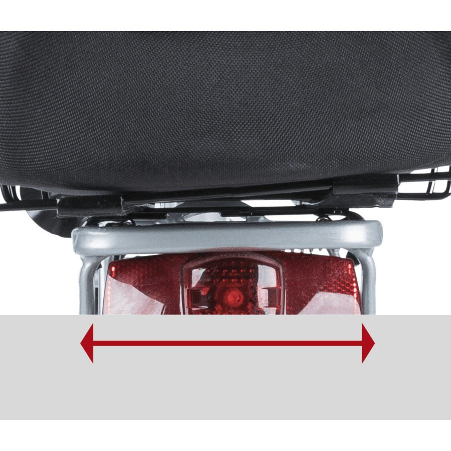 TRIXIE Hunde-Fahrradkorb für schmale Gepäckträger 13111, Bild 6
