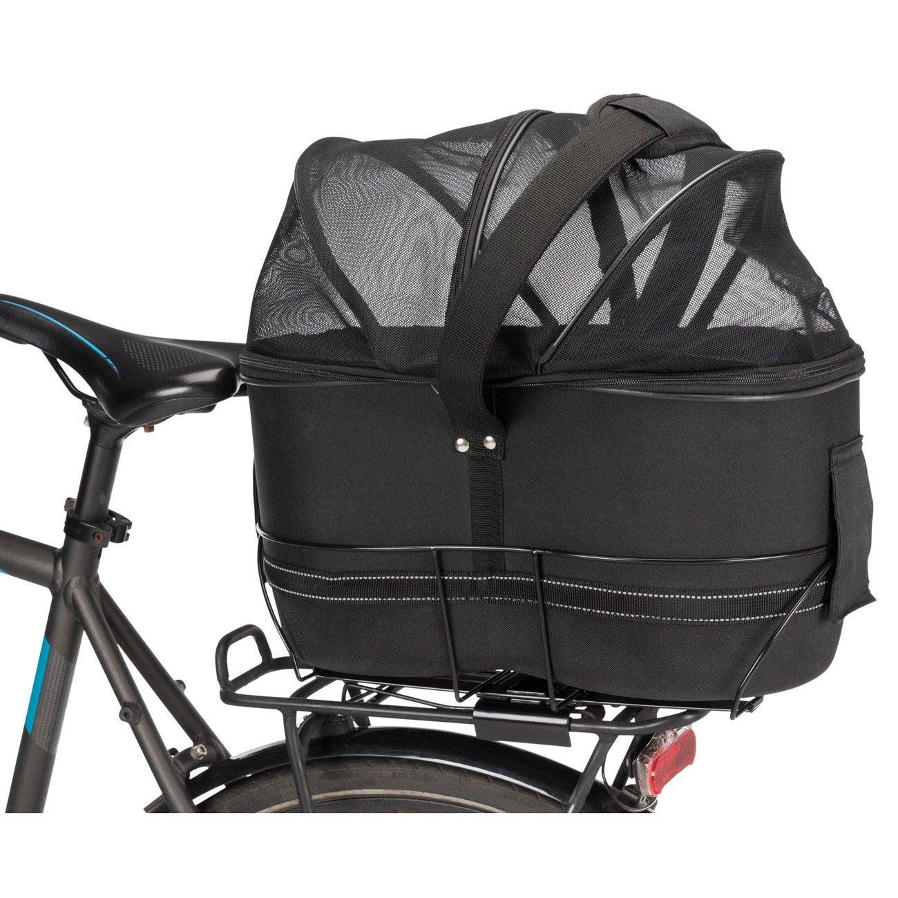 TRIXIE Hunde-Fahrradkorb für schmale Gepäckträger 13111, Bild 7