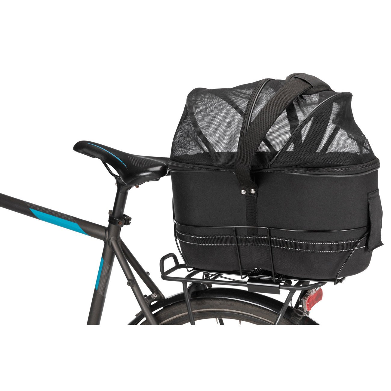 TRIXIE Hunde-Fahrradkorb für schmale Gepäckträger 13111, Bild 8