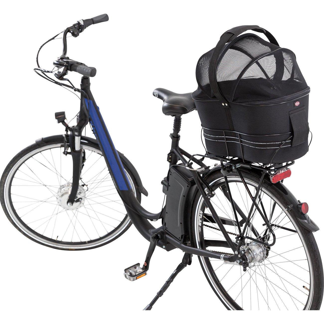 TRIXIE Hunde-Fahrradkorb für schmale Gepäckträger 13111, Bild 4