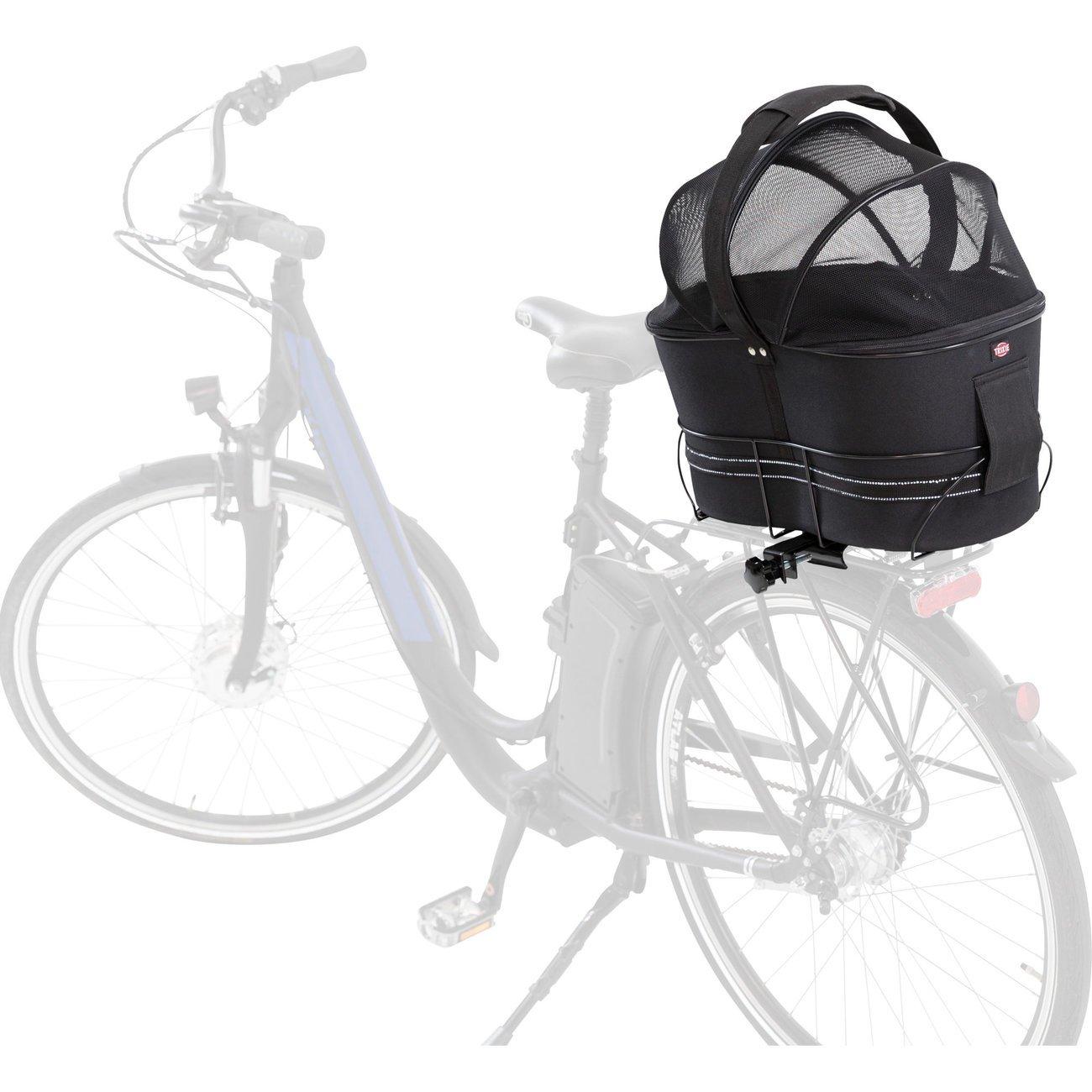 TRIXIE Hunde-Fahrradkorb für schmale Gepäckträger 13111, Bild 9