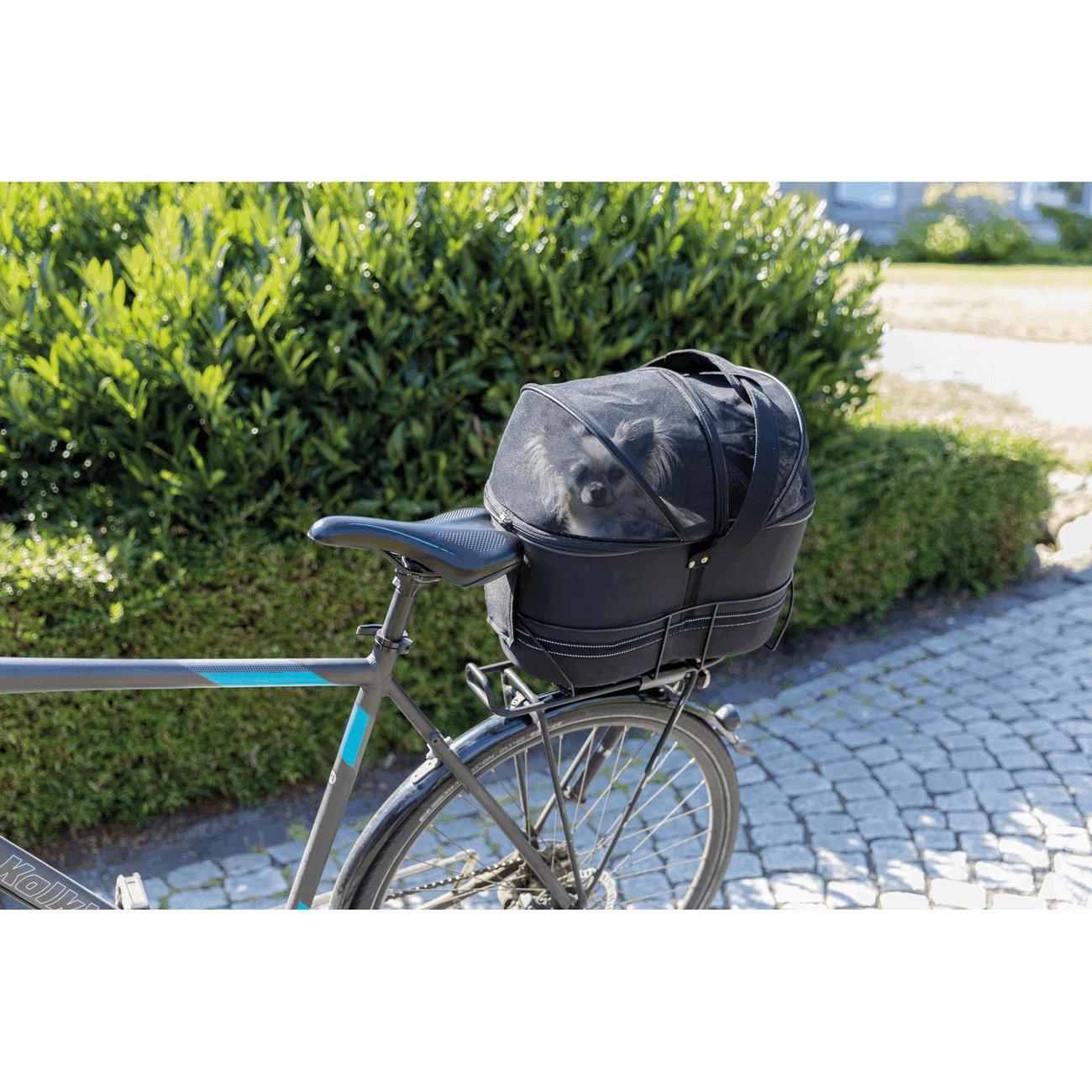 TRIXIE Hunde-Fahrradkorb für schmale Gepäckträger 13111, Bild 10