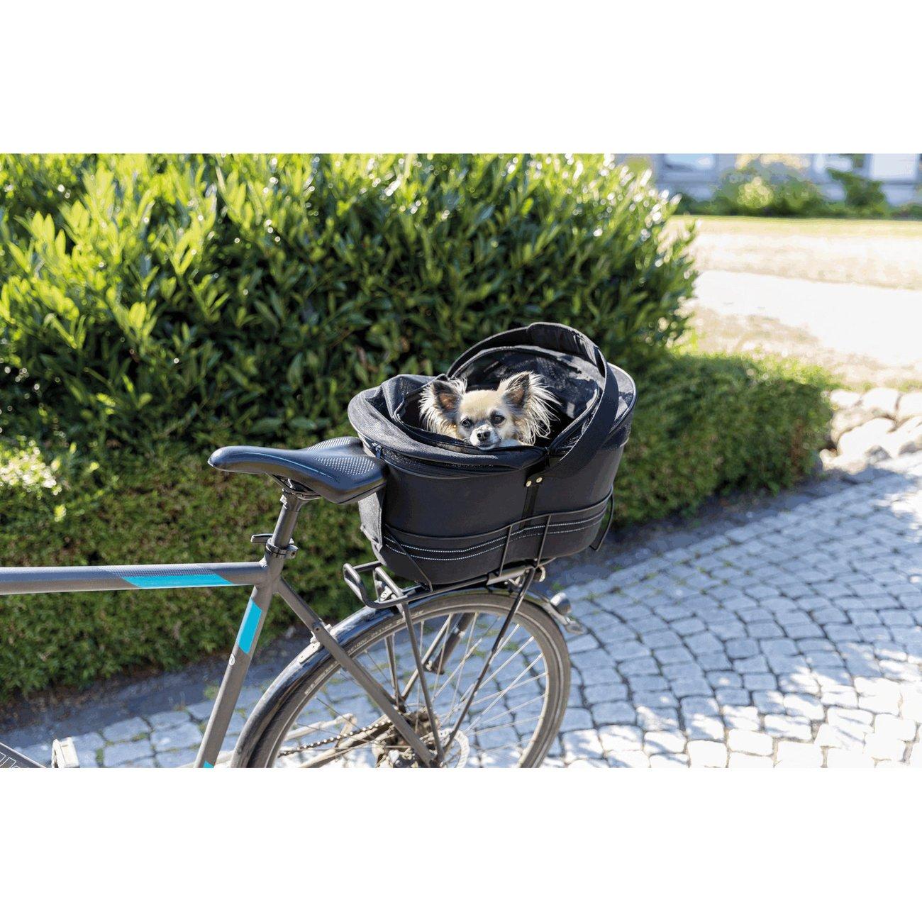 TRIXIE Hunde-Fahrradkorb für schmale Gepäckträger 13111, Bild 2