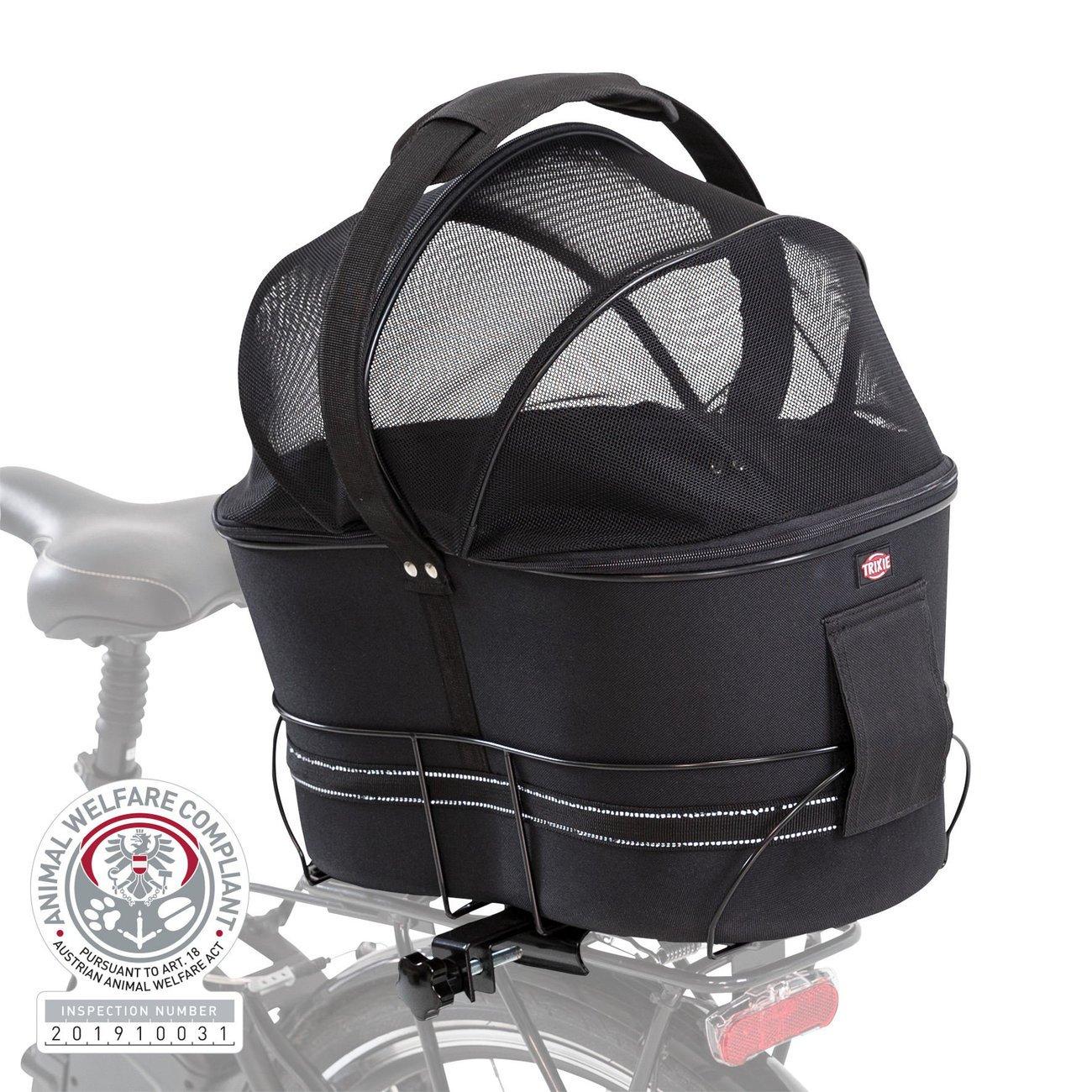 TRIXIE Hunde-Fahrradkorb für schmale Gepäckträger 13111, Bild 11