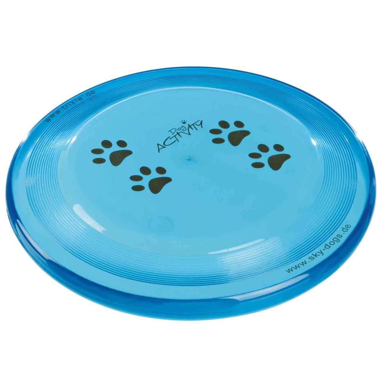 Trixie Hunde Frisbee von Karin Actun, bissfest, ø 23 cm, zufällige Farbe