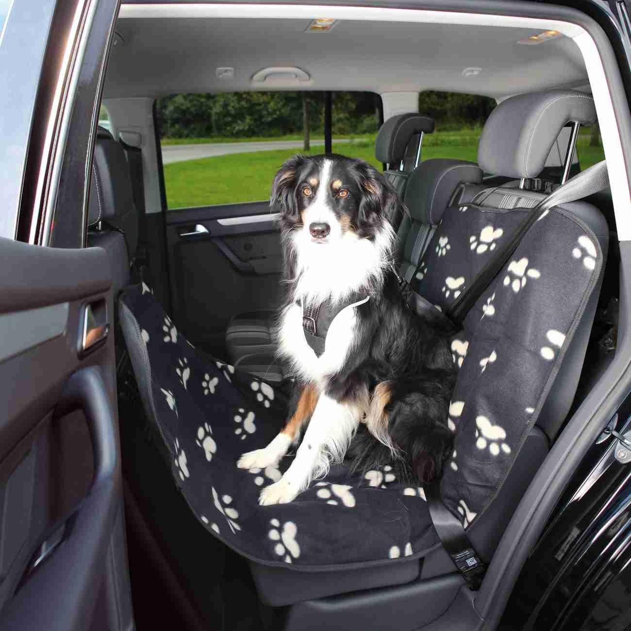 TRIXIE Hundedecke Autositz Pfotenmotiv 13235, Bild 5