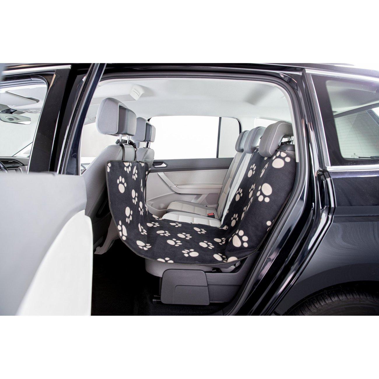 TRIXIE Hundedecke Autositz Pfotenmotiv Preview Image