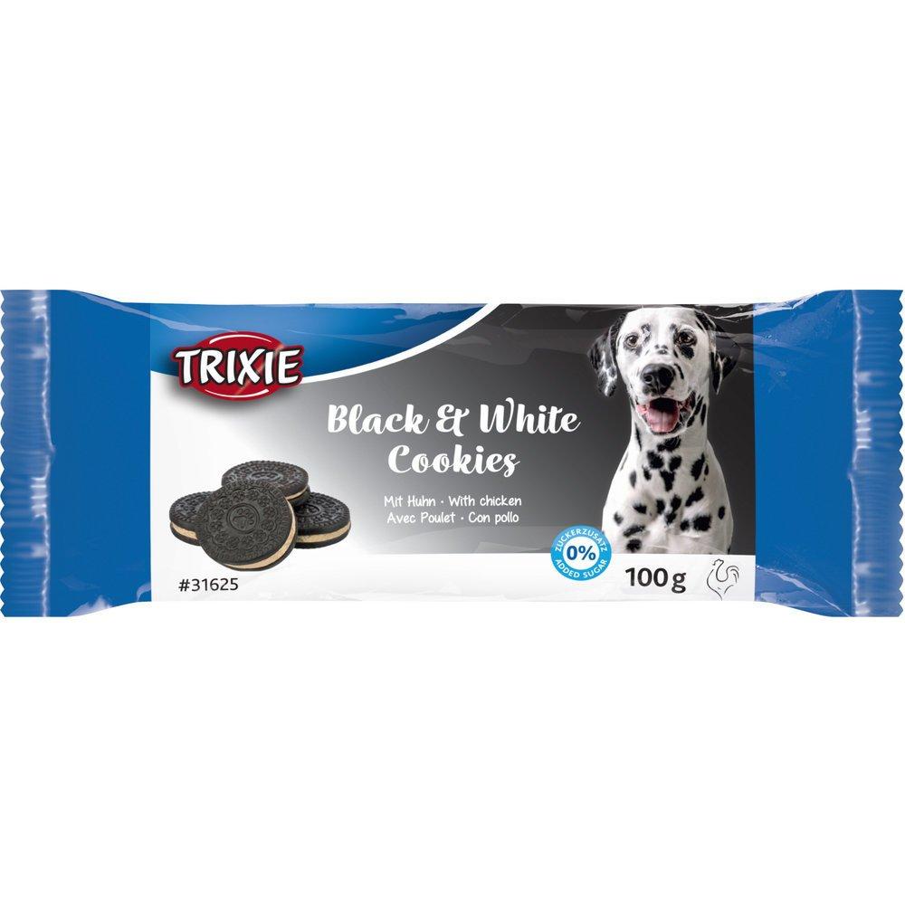 Trixie Hundekekse Black & White Cookies, 4 Stück