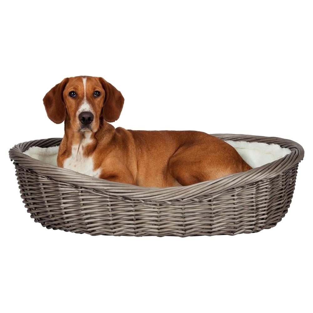 Trixie Hundekorb Weide mit Innenfutter und Kissen 28201, Bild 2