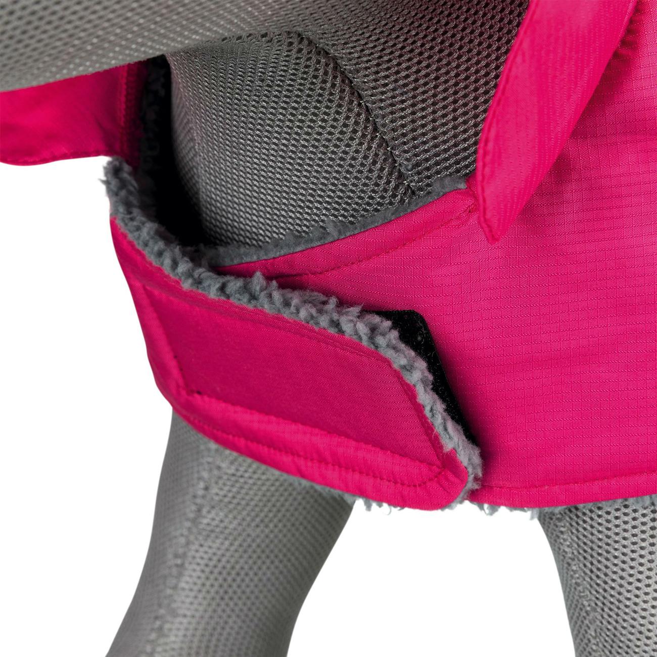 Trixie Hundemantel Méribel pink 67880, Bild 3