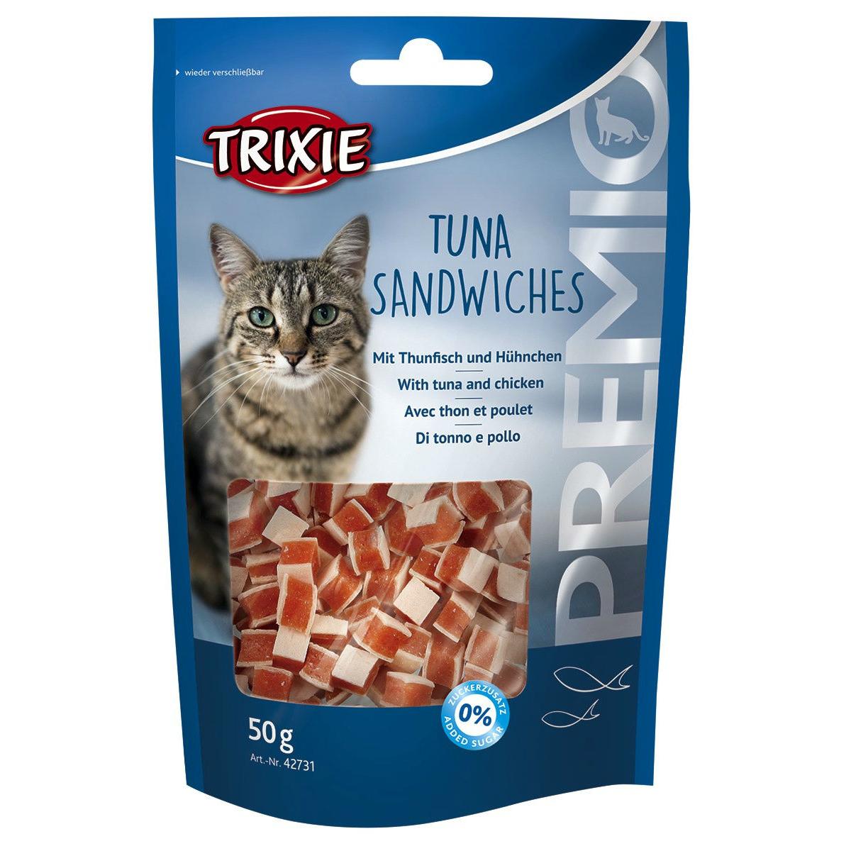 Trixie Katzensnack Tuna Sandwiches 42731