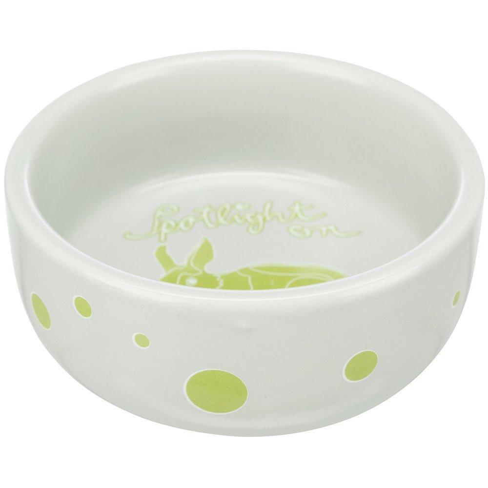 Trixie Keramiknapf für Kaninchen und Kleinnager, für Kaninchen: ø 11 cm, 250 ml