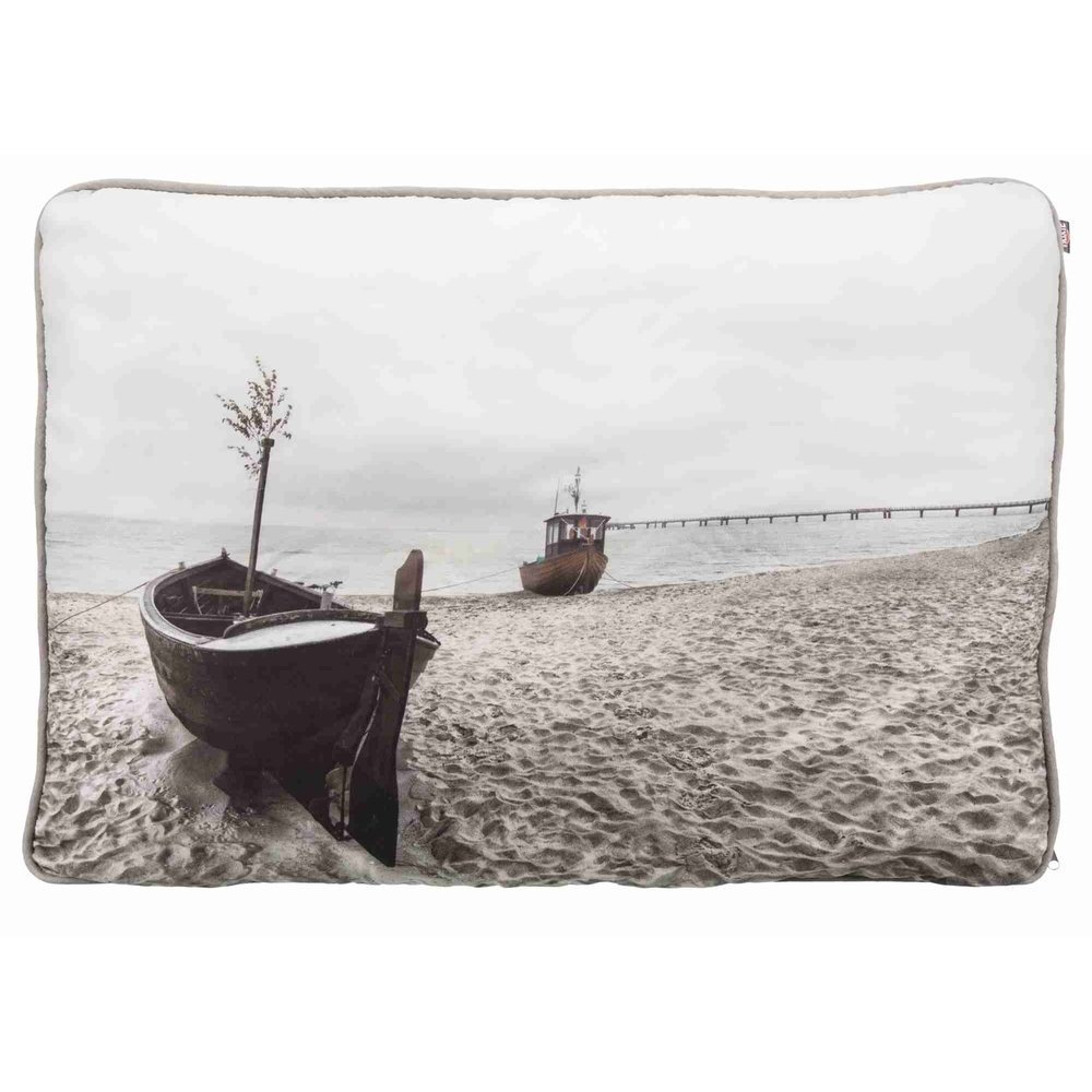 Trixie Kissen Beach mit Fotodruck, 100 × 70 cm