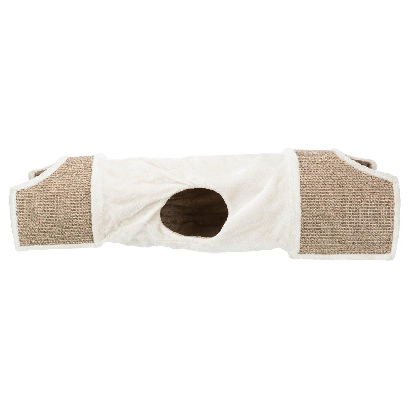 TRIXIE Kratztunnel für Katzen mit Plüsch Bezug 43004, Bild 3