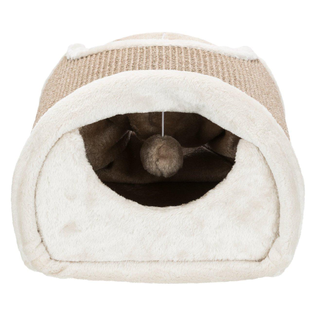 TRIXIE Kratztunnel für Katzen mit Plüsch Bezug 43004, Bild 7