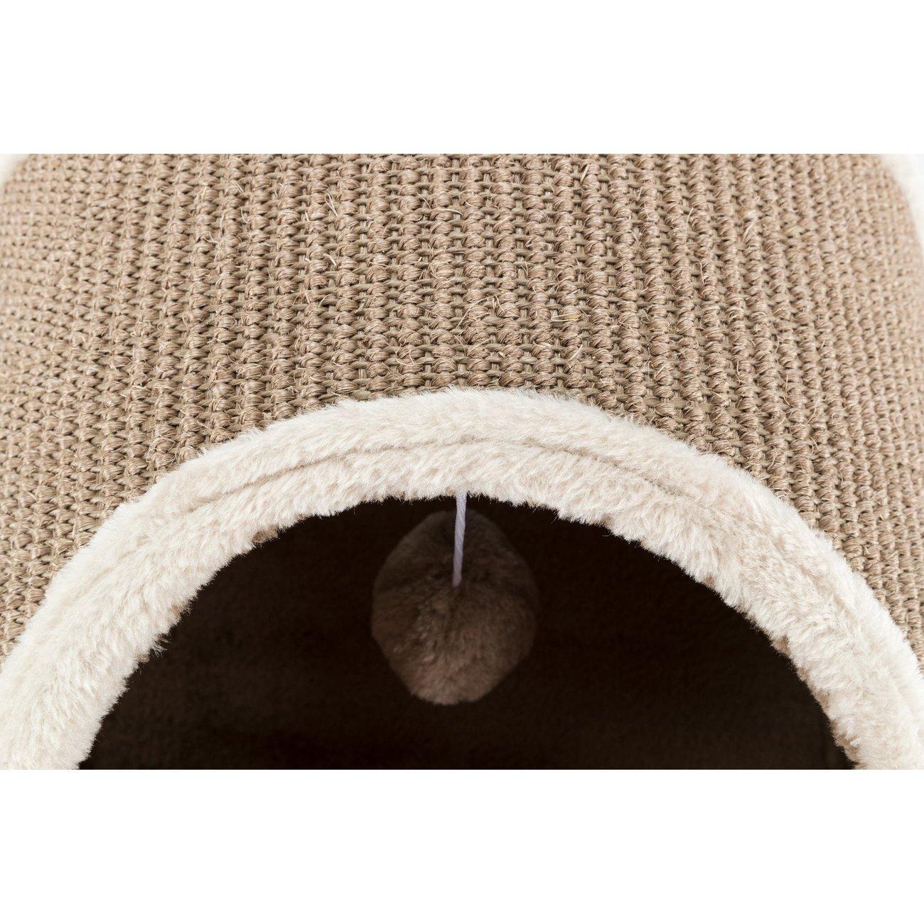 TRIXIE Kratztunnel für Katzen mit Plüsch Bezug 43004, Bild 8