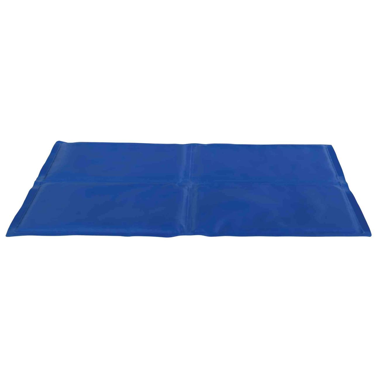 TRIXIE Kühlmatte für Hunde, 90 × 50 cm, blau