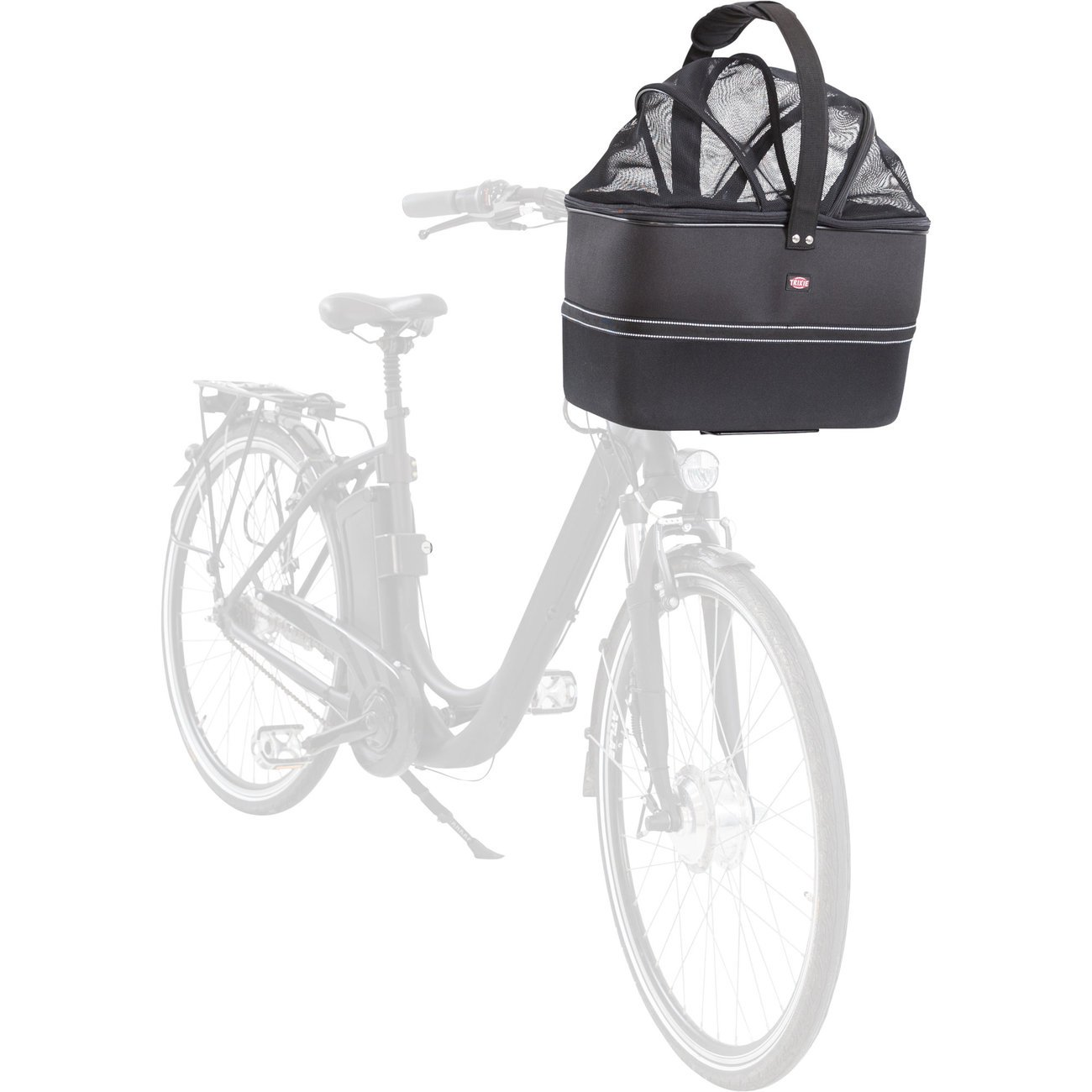 TRIXIE Lenker Front-Fahrradkorb für Hunde 13108, Bild 37