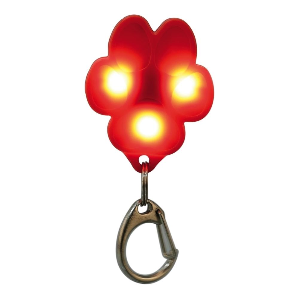 Trixie Leuchtanhänger Flasher für Hunde, USB, 3,5 × 4,3 cm