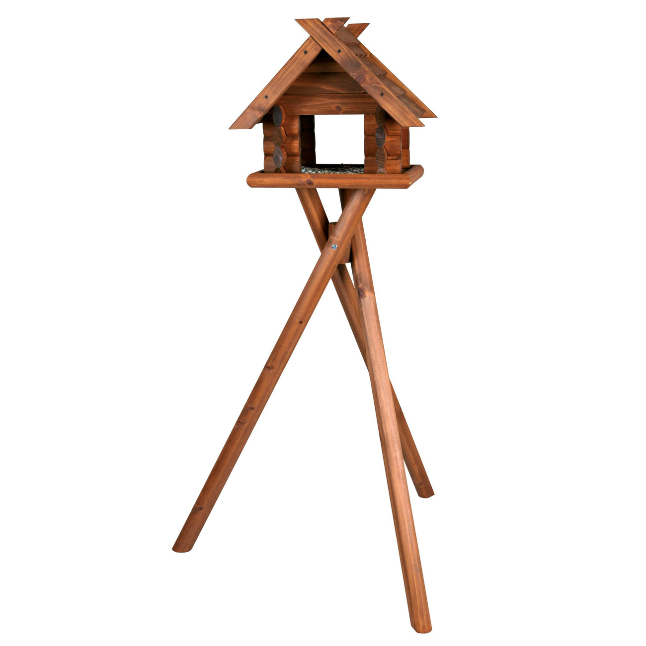 Trixie natura Vogelfutterhaus Blockhaus 5576
