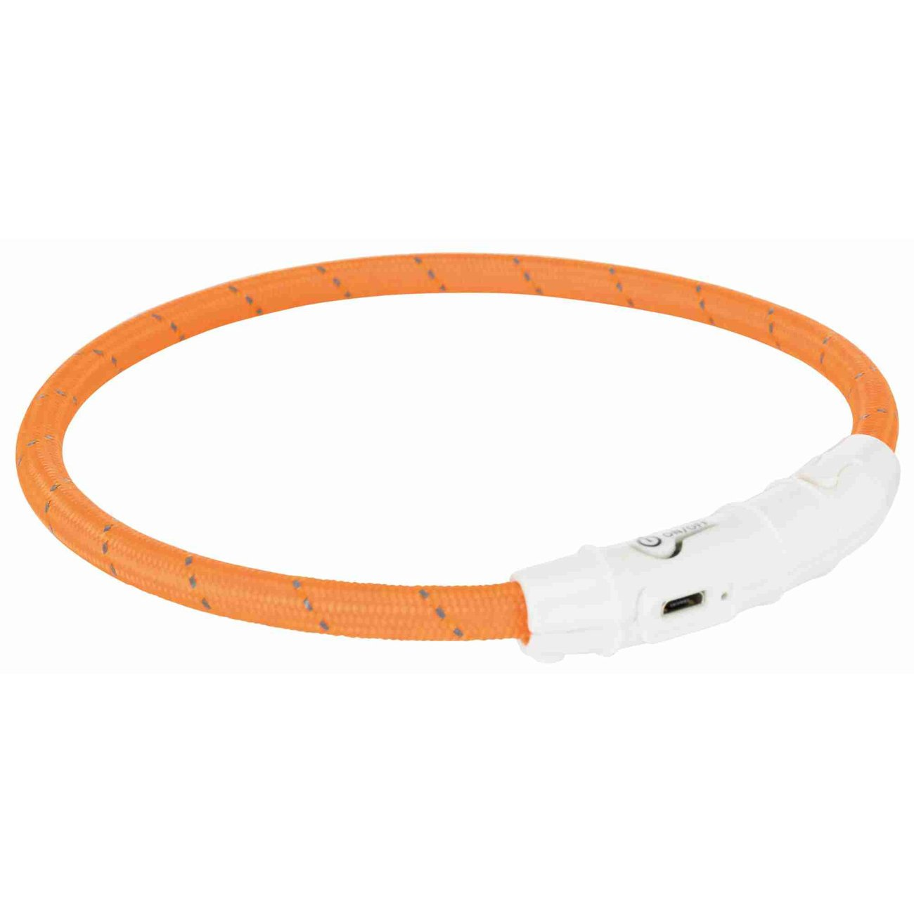 TRIXIE Hunde Leuchtring Nylon USB 12691, Bild 3