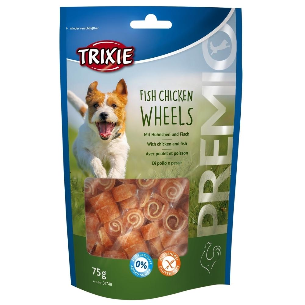 Trixie PREMIO Fish Chicken Wheels Hundesnack 31748