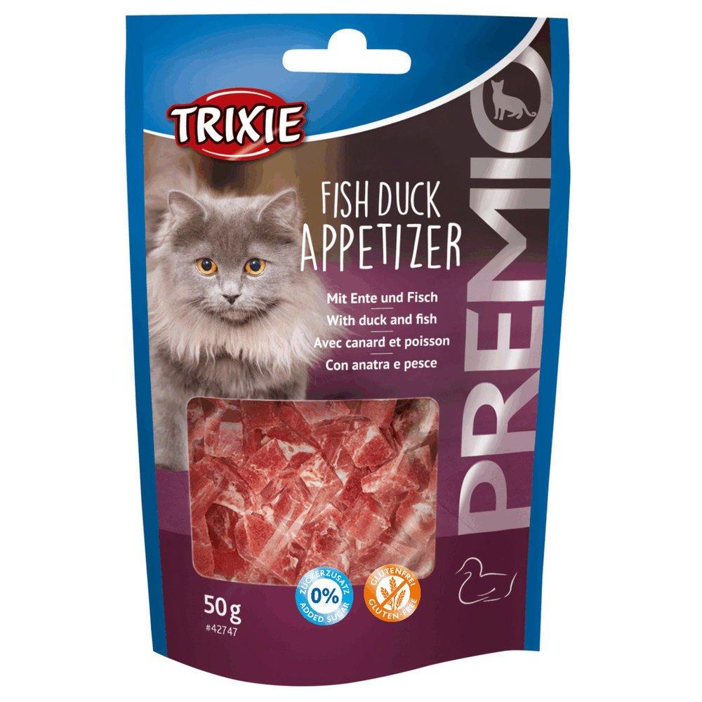 Trixie PREMIO Fish Duck Appetizer Katzensnack 42747