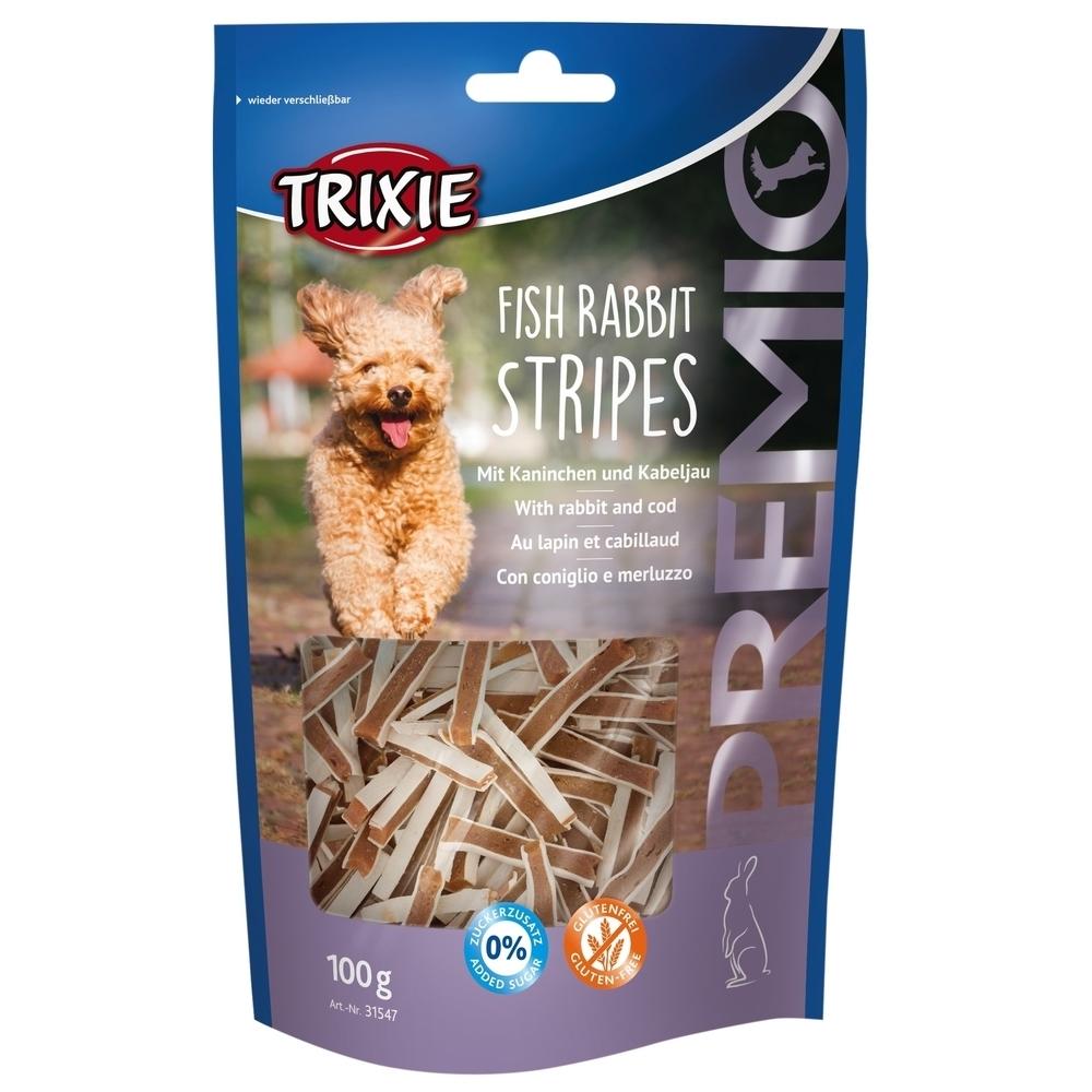 Trixie PREMIO Fish Rabbit Stripes Hundesnacks 31547