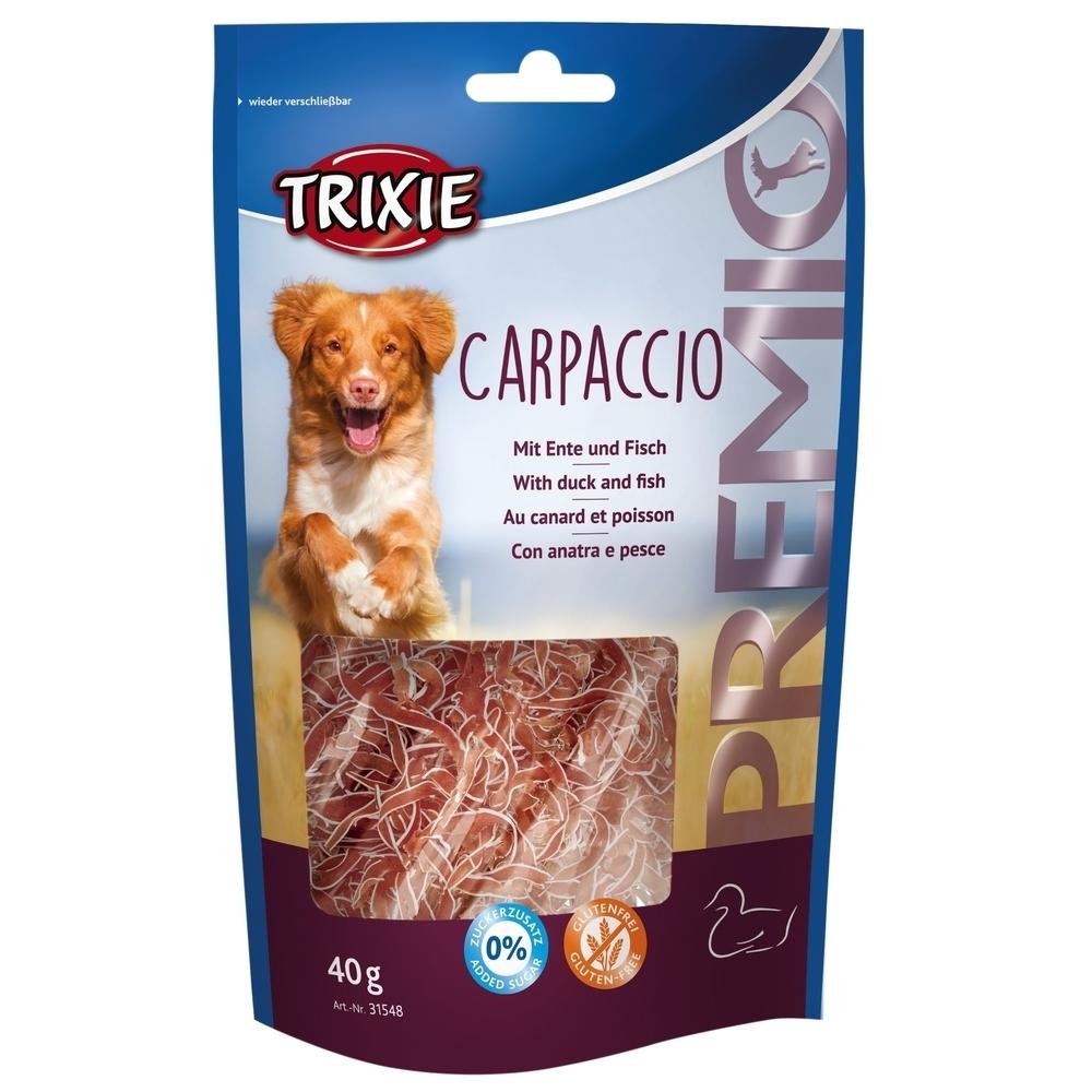 Trixie PREMIO Hunde Carpaccio, Ente und Fisch, 40 g