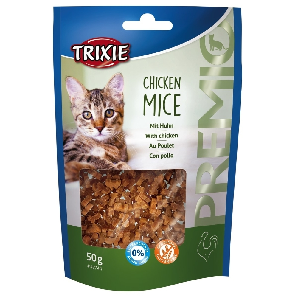 Trixie PREMIO Katzensnack Chicken Mice 42744