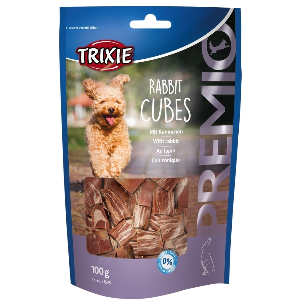 Trixie PREMIO Rabbit Cubes Hundesnack 31545
