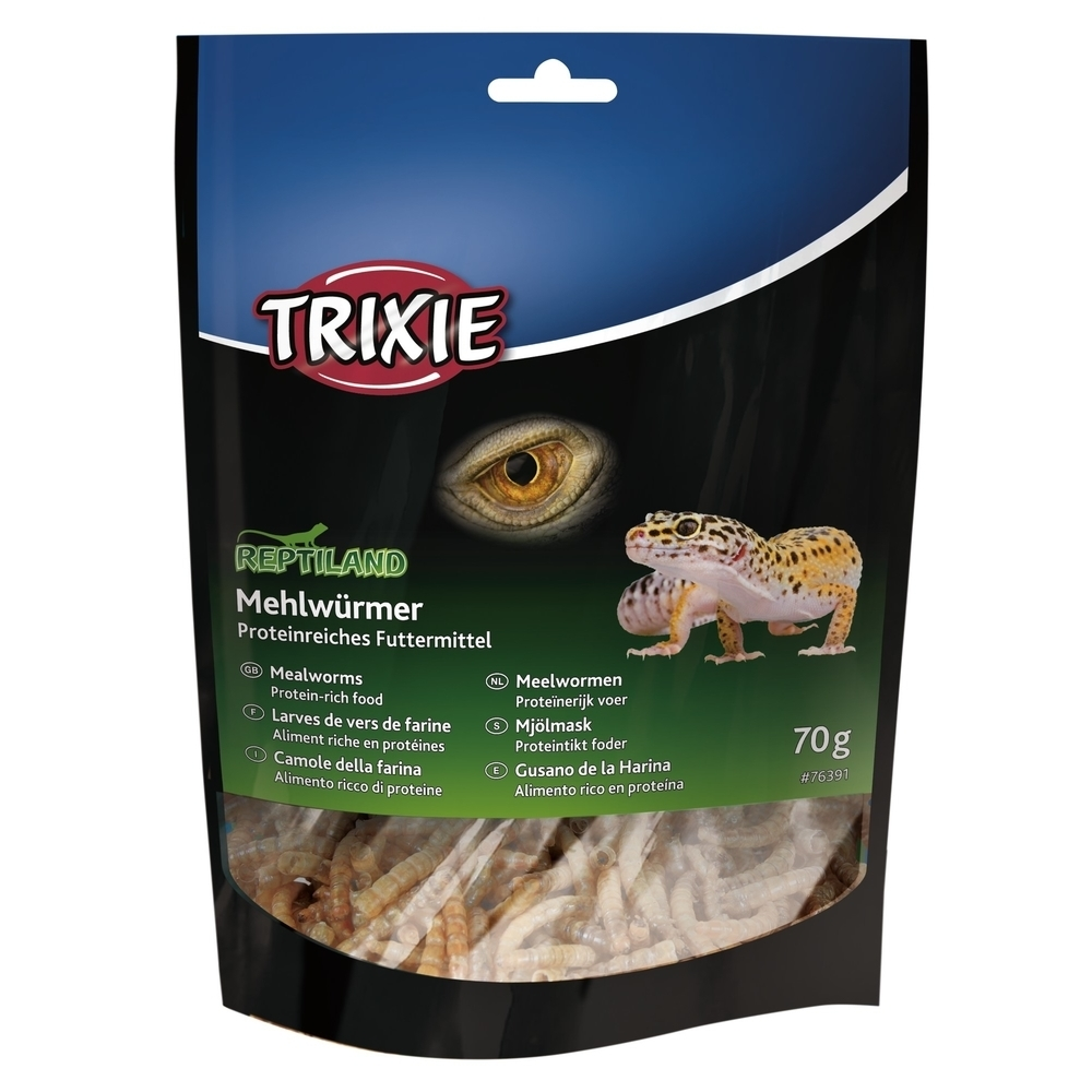 Trixie Reptiland Mehlwürmer getrocknet 76391