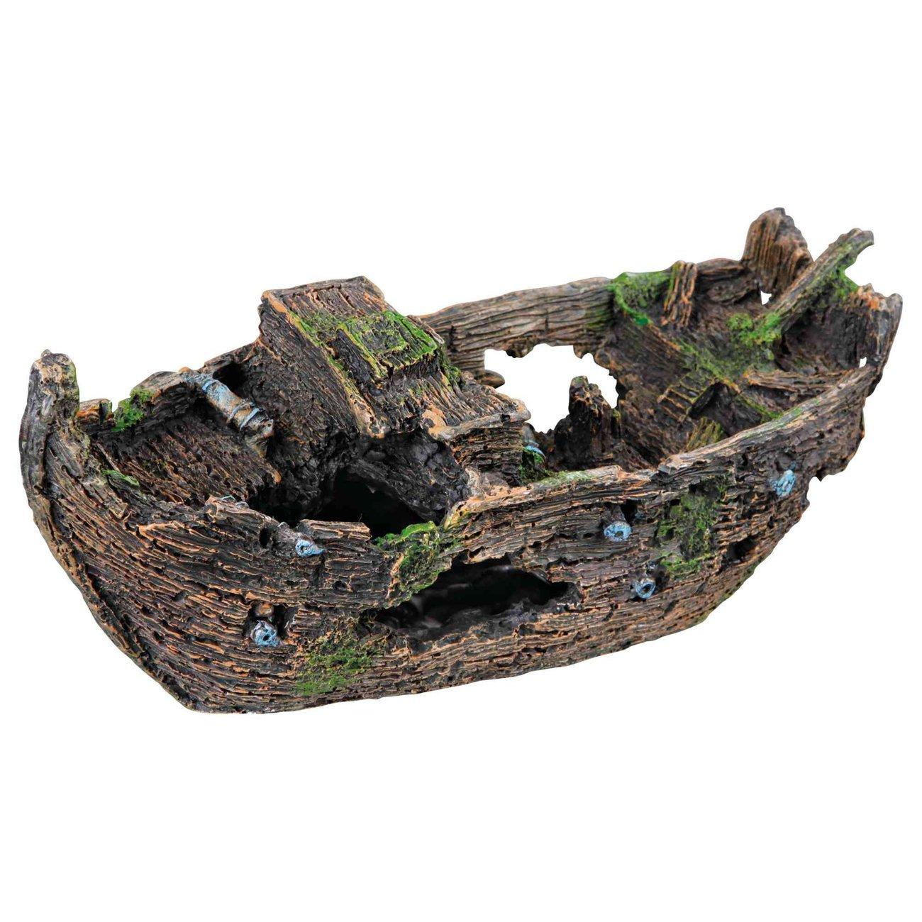 Trixie Schiffswrack für Aquarium Boden, 29 cm