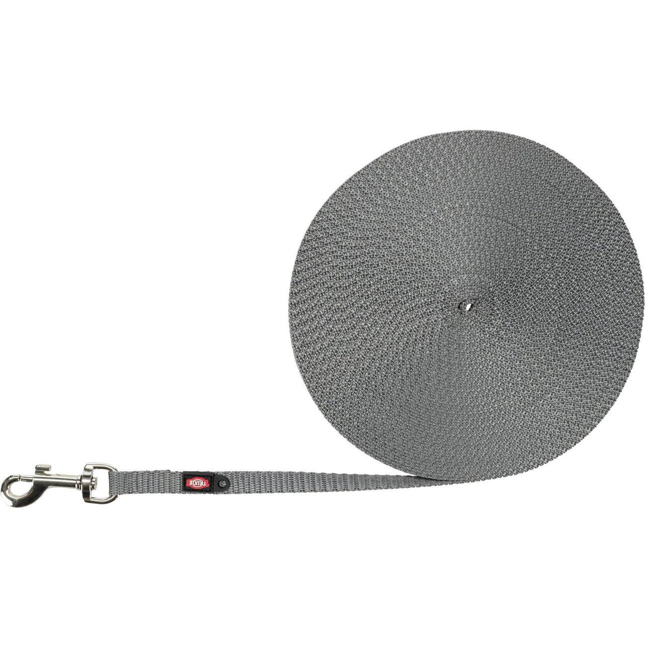 Trixie Schleppleine extra leicht, Länge 10 m x 10 mm, graphit